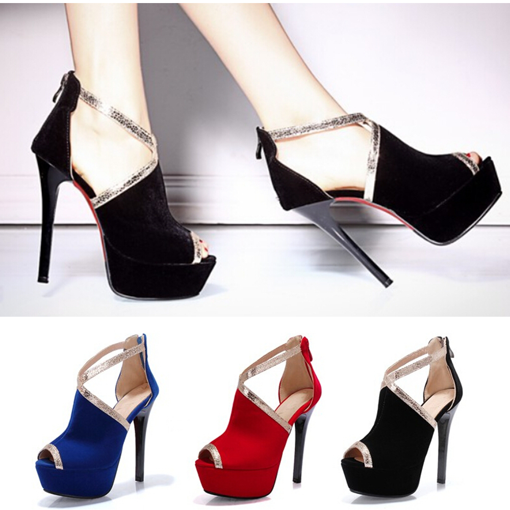 Platform heels for wedding