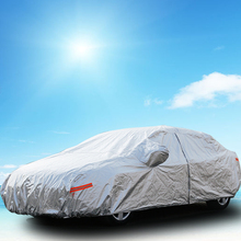 Car Cover For Outdoor UV Waterproof Rain Dust Snow Breathable Full Protection(China (Mainland))