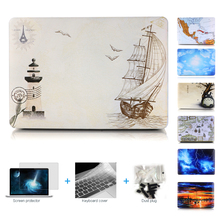 New Hard Case for apple Macbook Air 13 Pro 13 case For air 11 12 13 Case Protective Cover For Mac book pro retina 13 15 case bag(China (Mainland))
