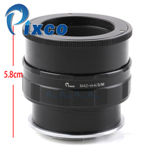 Buy Pixco Adjustable Lens Adapter Macro Tube suit M42 Lens Micro M4/3 Mount Cameras Panasonic Olympus Focusing Helicoid for $31.74 in AliExpress store