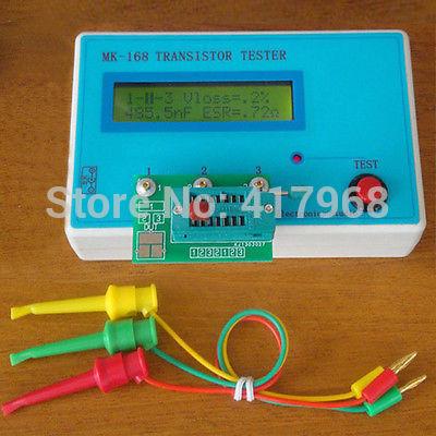 MK-168 Brand New 1Pcs Diode Triode Capacitance ESR resistance Meter MOS PNP NP