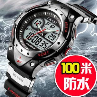 2013 Men's Watch Fashion Analog-Digital 100M WaterProof Wrist Watch Outdoor Sport Watch