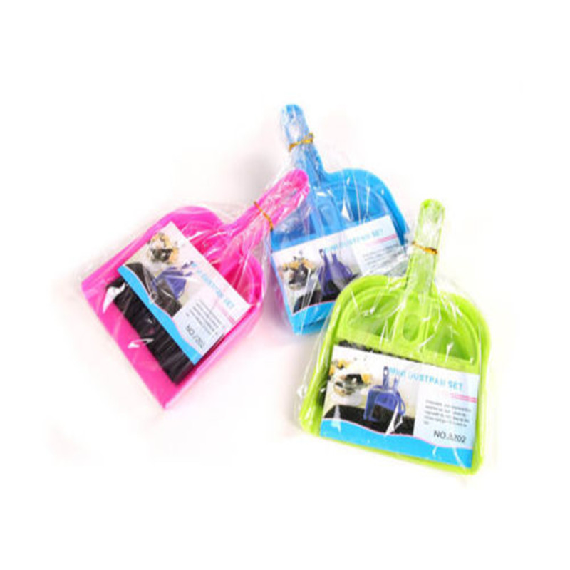 2016 High Quality Brooms Whisk Dust Pan Table Keyboard Notebook Dustpan + Brush Set Cleaning(China (Mainland))