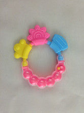 wholesale custom soft BPA free fruit toothbrush toy funny silicone baby teether (China (Mainland))