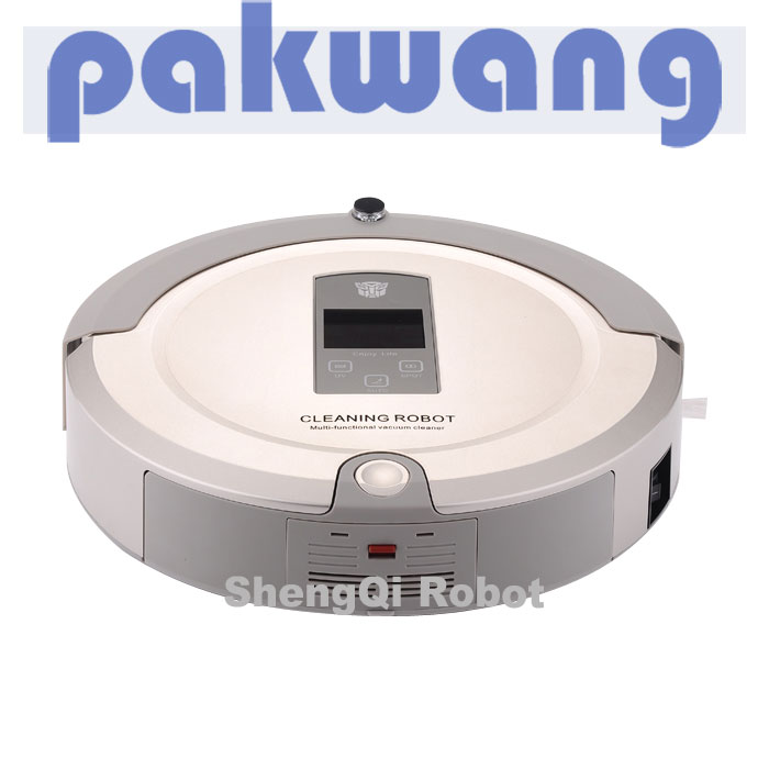 2016 Hot Intelligent Robotic Vacuum Cleaner for Home , Remote Control Self Charge robotic dust cleaner(China (Mainland))