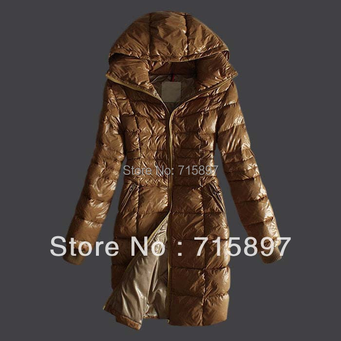 Free Shipping!Long Winter Warm Brand Slim Duck/Goose Down Parkas For Women,Ladies' Outerwear Coats/Jackets 2015 Hoodies(China (Mainland))