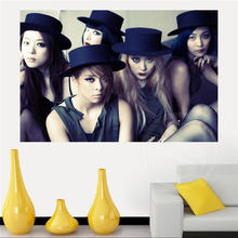 arrive Custom 2NE1 fx Home Decor Creative Art Poster Print Wall Sticker 40x60cm SQ00612-HXL04 - ZTX CUSTOM store