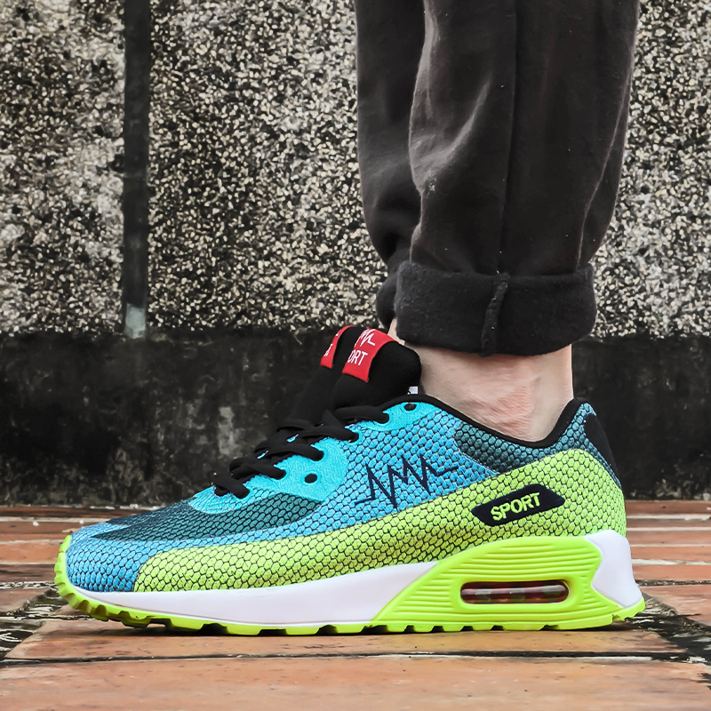 Male sports casual sneakers breathable sports shoes fashion trend air shoes net fabric lovers shoes 3colors<br><br>Aliexpress