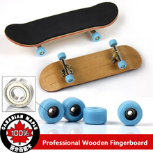 4 In 1 New Professional Maple Wood Mini Finger Skateboard With Tool Bearning Wheels Fingerboard Truck Skate Board Toy(China (Mainland))