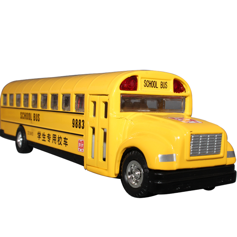 free shipping 89770 13-year-old school bus alloy car model toy car bus toy