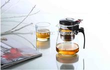 Promotion Genuine glass teapot tea kettle 600ML detachable tea Press this button to filter the tea