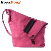 RoyaDong Brand 2016 New Women Messenger Bags Canvas Vintage Shoulder Bag Ladies Designer Small Crossbody Bags For Women(China (Mainland))