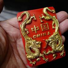 Бесплатная доставка Китайский Дракон Магниты На Холодильник Рисунках Традиционный Туристский Сувенир, украшение дома игрушки партии питания детей подарки