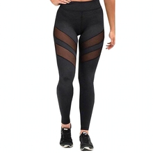 Buy 2017 Women Leggings Fitness Breathable Push Mesh Leggings Sexy Black Jeggings Ladies Patchwork Workout Leggins Pant Plus Size for $9.91 in AliExpress store