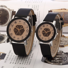relogio Korean Lovers' Quartz Watch Women's Famous Brand Watches Men Men's Watch EXO Relogio Masculino Free Shipping