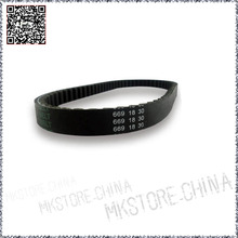 Drive Belt 669 18 30 Scooter Moped 50cc For GY6 4 Stroke Engines Fits Most 50cc Rubber Transmission Belts Drive Pulley Free Ship(China (Mainland))