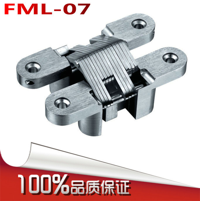 Fu Melody FML-07 folding cross hinge invisible hinge concealed hinge hidden hinge hidden(China (Mainland))