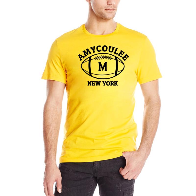 American Football Jerseys 2016 Summer New tshirts O-Neck M Print Black Sport T-shirt Men Brand Casual T Shirt 100% cotton(China (Mainland))