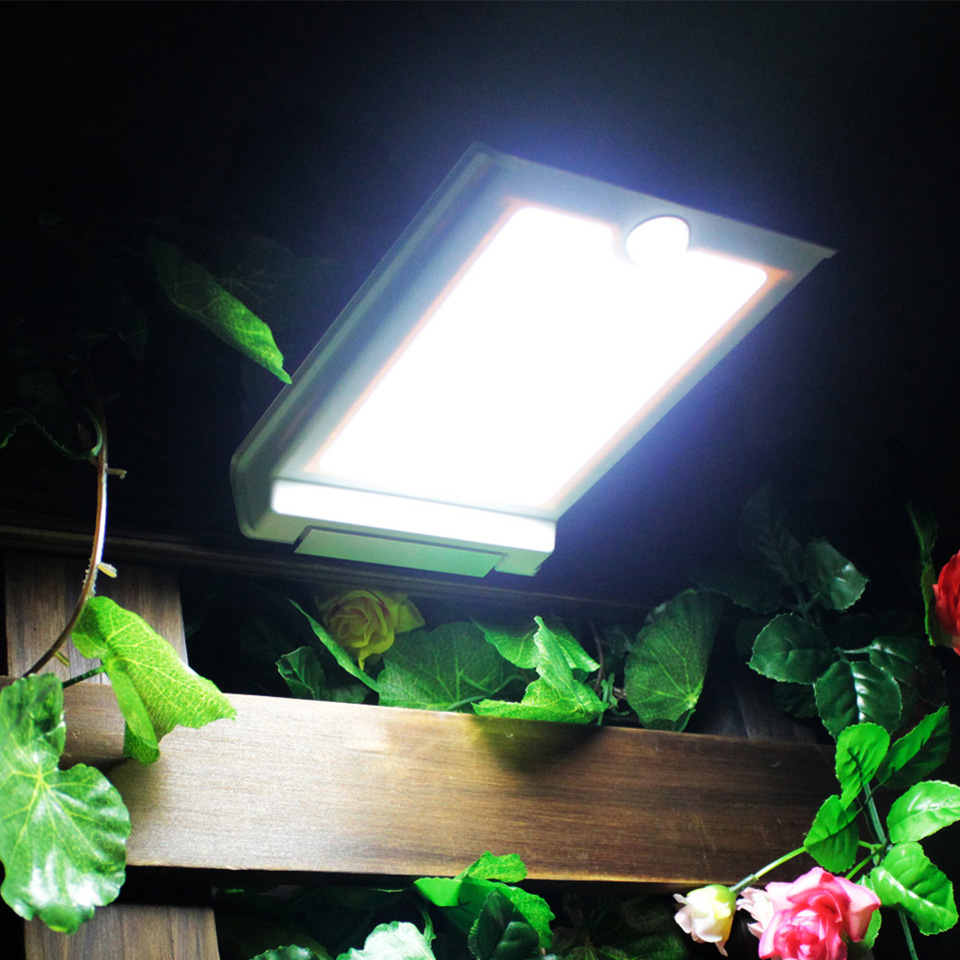 BEST New Year Solar Powered Corridor Pathway Wall Home Garden Light Landscape Lamp White Free Shipping<br><br>Aliexpress