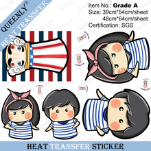 Grade A heat transfer sticker heat transfer printed sticker 500 sheets per pack 48cm*64cm/sheet(China (Mainland))