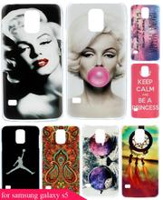 Beauty Painting Marilyn Monroe Lips Protective Phone Hard Plastic Hard Plastic Phone Case Cover for Samsung Galaxy S5 I9600 SV