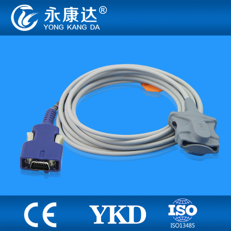 Mediana YM 6000 Adult Soft Tip spo2 sensor, oximax 14pins