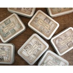 4 шт./компл. 8 конструкций DIY старинные деревянные штамп ретро жестяная коробка Alice и дороти штампы для скрапбукинга украшения бесплатная доставка 1038
