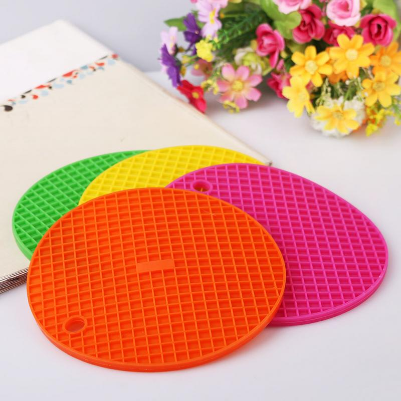 Colorful Durable Silicone Round Non slip Heat Resistant  : Colorful Durable Silicone Round Non slip Heat Resistant Mat Coaster Cushion Placemat Pot Holder OJ from www.aliexpress.com size 800 x 800 jpeg 70kB