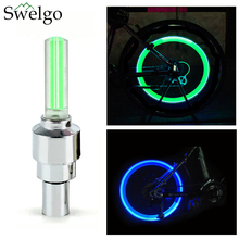 Buy 2xLED Lamp Flash Tyre Wheel Valve Cap Light Car Bike Bicycle Motorcycle bicicleta Cycling Led Bycicle Accessories Light for $1.32 in AliExpress store