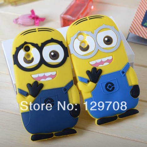 For LG Nexus 5 Google Nexus 5 N5 E980 D820 D821 Despicable Me Minion Soft Rubber Silicone Cases Back Cover Case 100pcs/lot