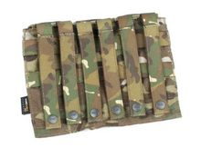 AVS Style Military Tactical Pouch Camo Multicam Molle Bag for M4 Mag Magazine(China (Mainland))