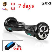 2 Wheel Smart Balance Electric Scooter Hoverboard Skateboard Mini Hoover Boards 6.5'' inch Skywalker Board Oxboard Fast UL(China (Mainland))