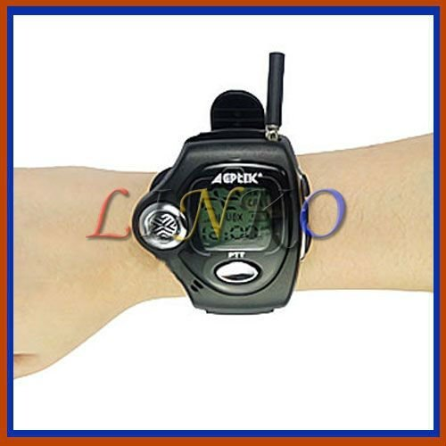 mini wrist walkie talkie watch ,two way radio interphone RD-820 For Children gifeFree Shipping