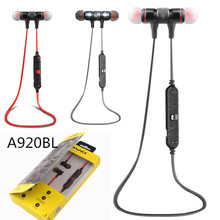 Awei A920BL Wireless Bluetooth earphone stereo music earphone sports running earphonewith Microphone
