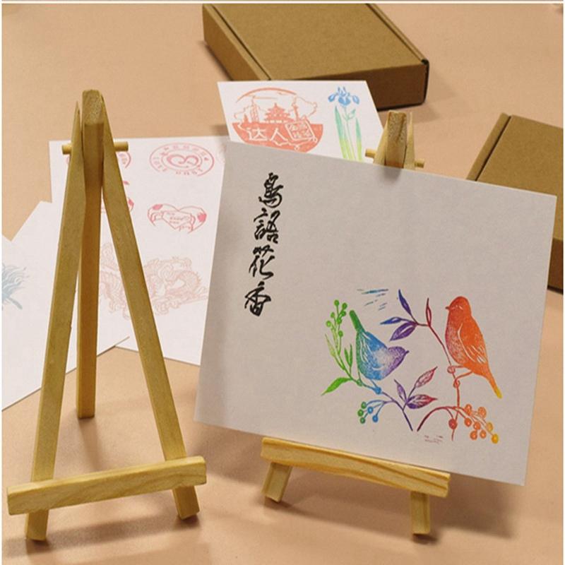 Diy Calendar Stand : Wholesale price mini wood artist easel wedding table