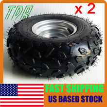"""STOCK IN USA Go Kart Buggie Atv Quad 4 Wheeler Front Rear Atv Tires and Wheels 145 70 6 for 6"""" Rims TU(China (Mainland))"""