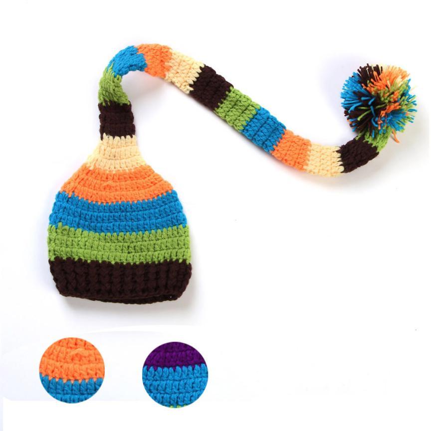 hat 2016 kids winter hats newborn photography woolen caps for kids knit cap for newborns baby winter hat bonnet enfant great(China (Mainland))