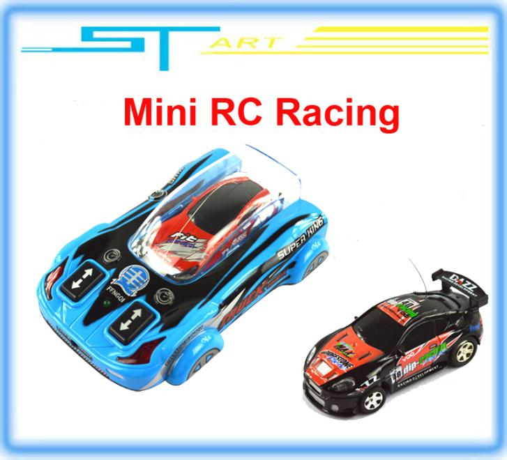 10pcs/lot 1/63 RC Radio Remote Control Toys RC mini Speed Micro Racing Car Gift Wholesale Drop shipping (China (Mainland))