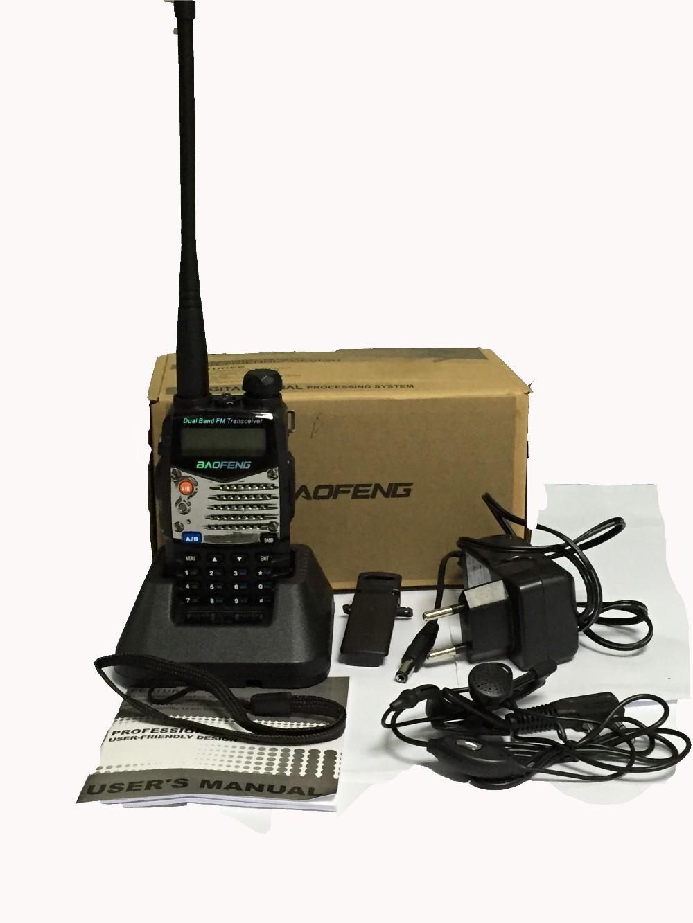 New Waterproof Pofung Baofeng UV-5RA For Police Walkie Talkies Scanner Radio Vhf Uhf Dual Band Cb Ham Radio Transceiver 136-174 (16)