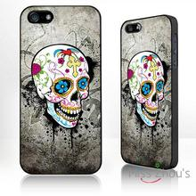 For iphone 4/4s 5/5s 5c SE 6/6s plus ipod touch 4/5/6 back skins mobile cellphone cases cover Mexican sugar skull