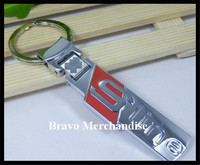 automobile car key ring chain keyring keychain with sline logo emblem badge marks