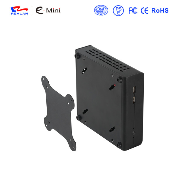 Mini ITX Industrial Mini PC 12V5A power Desktop Computer Intel Celeron 1037U Barebone Machine support windows linux android(China (Mainland))