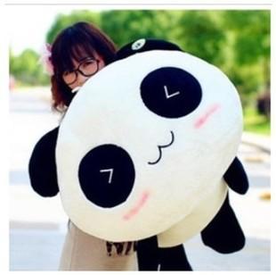 Baby Toy 35cm Smile Giant Panda Pillow Mini Plush Toys Stuffed Animal Anime Toy Doll For Children Kids Girl Valentine's Day Gift(China (Mainland))