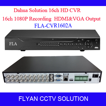 High Quality 16CH HD CVR 1080P 2SATA HDCVI Camera Recorder Dahua Solution VGA HDMI Output Analog Security Camera CCTV DVR system(China (Mainland))