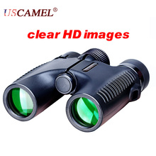 Compact Binoculars Waterproof Optics High Times Telescope Roof Portable USCAMEL 10X26 Dual Focus  Mini Size Outdoor Garget New
