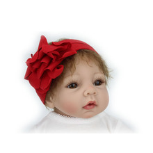 Silicone Reborn Babies Doll For Sale Soft Toys For Girls Christmas Gift Lifelike Doll Newborn Babies Clothes(China (Mainland))