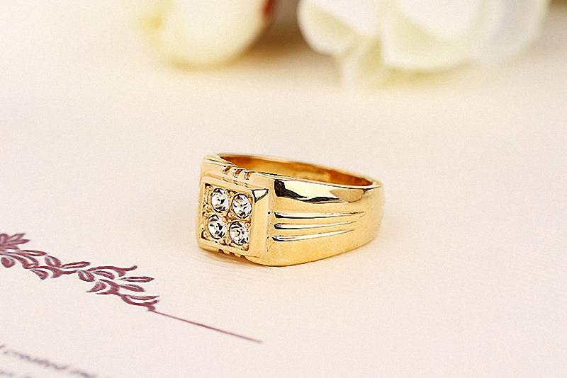 HTB1jeijKpXXXXa.XVXXq6xXFXXX5 - Brand TracysWing Rings for men Genuine Austria Crystal 18KRGP Gold Color Fashion wedding ring New Sale Hot #RG90044