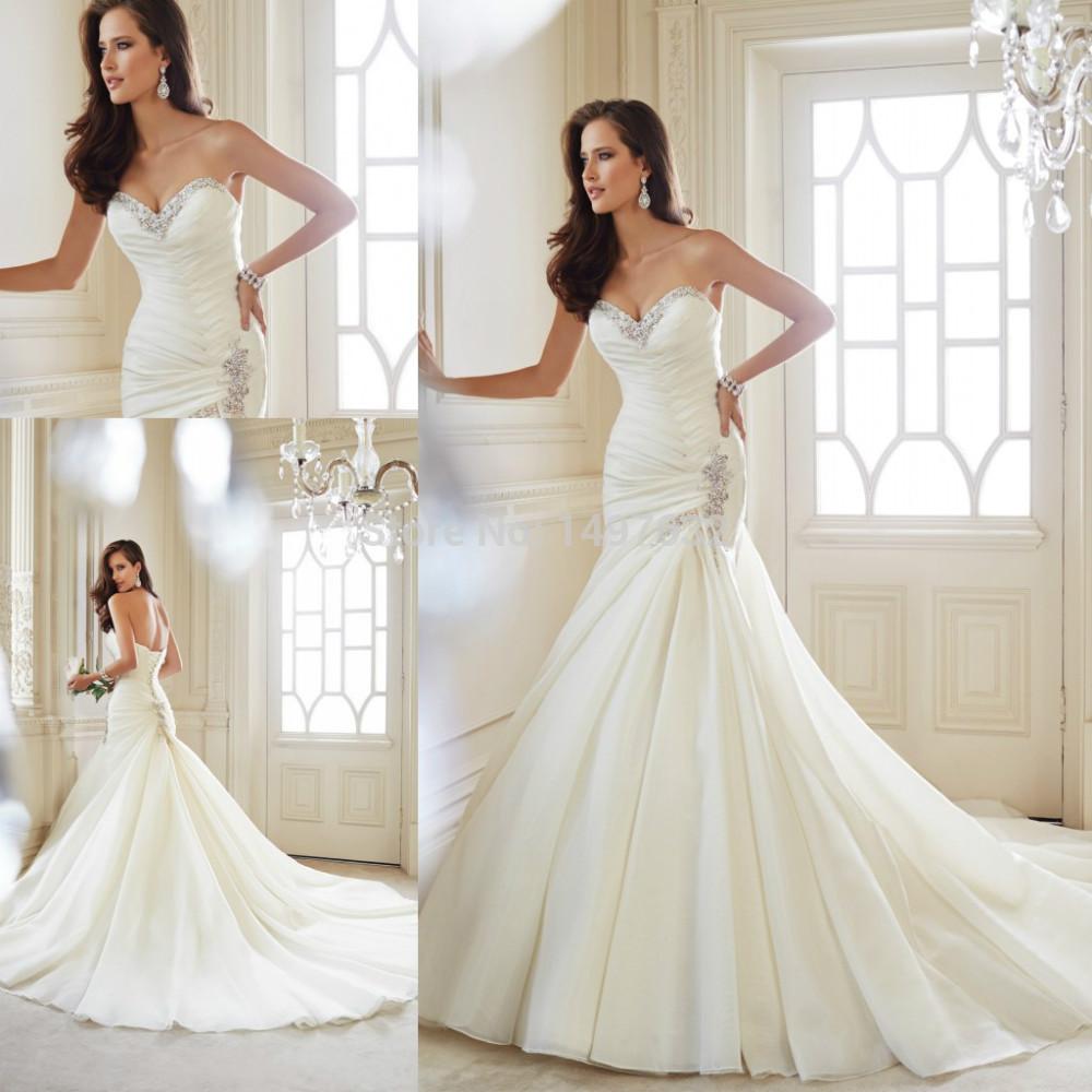 Popular Heart Shaped Corset Wedding Dress Buy Cheap Heart Shaped