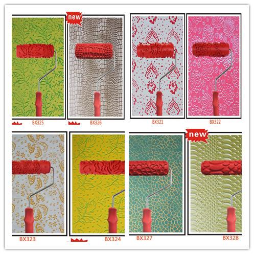 Compra paredes de goma online al por mayor de china - Rodillos con relieve ...