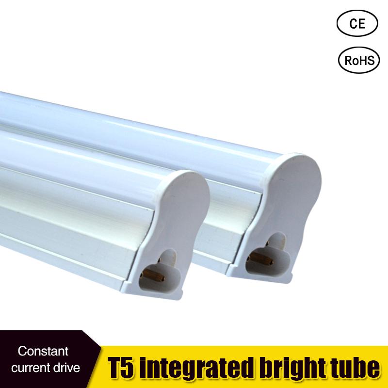 Led Tube T5 Integrated 300mm 600mm 1ft 2ft T5 Led Tube Light Lamp 6W 10W 85-265v(China (Mainland))
